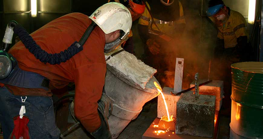 Iron-foundry-work
