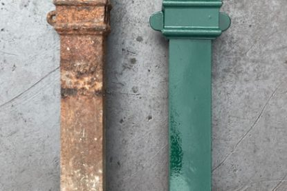 Custom Iron Foundry Down pipes (1)